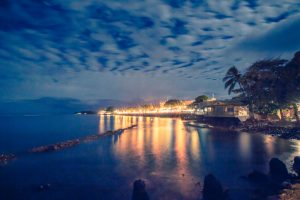 Lahaina, Maui, Hawaii at night